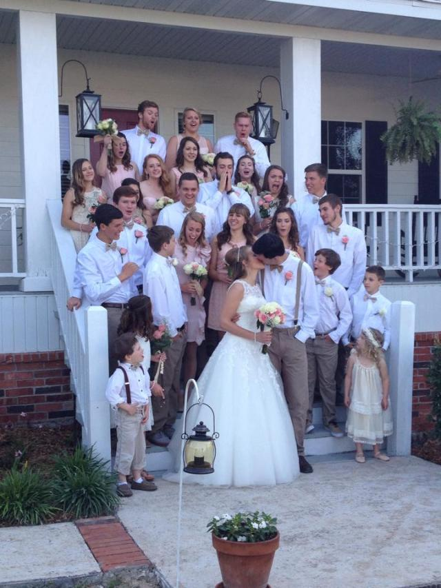 Our amazing bridal party!