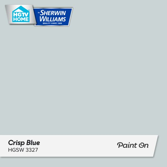 crisp blue sample